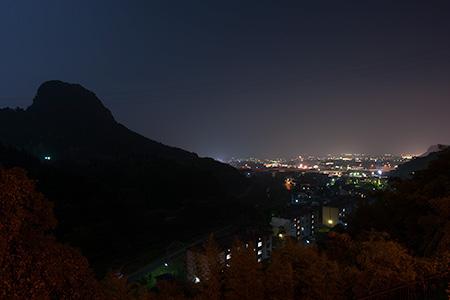 ふれあいパーク加治木の夜景