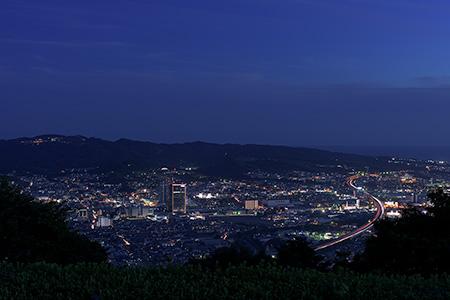 梶原山公園の夜景