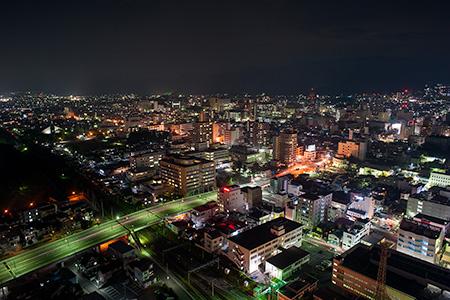 霞城セントラル 展望ロビー