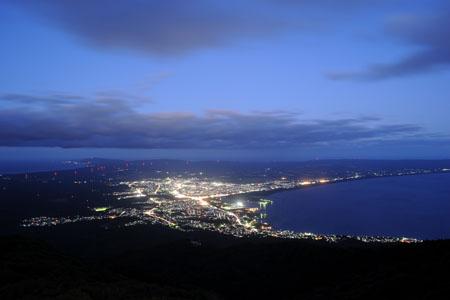 夜景100選「釜臥山」