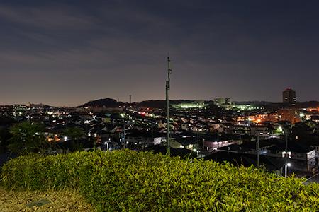 かまぬき公園の夜景