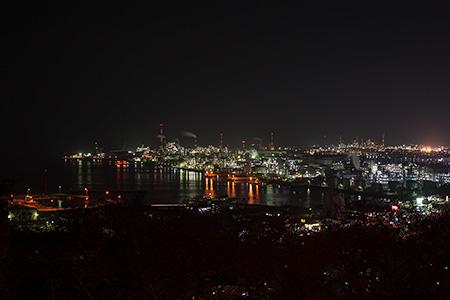 亀居公園の夜景