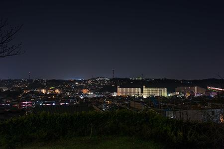 上星川あおぞら公園の夜景