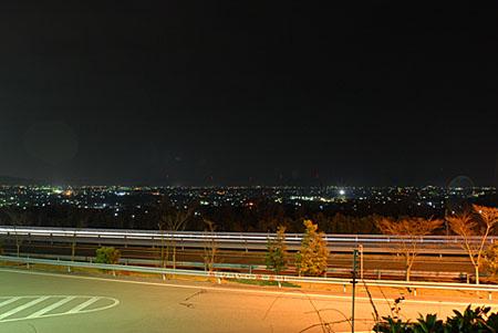 上板SAの夜景