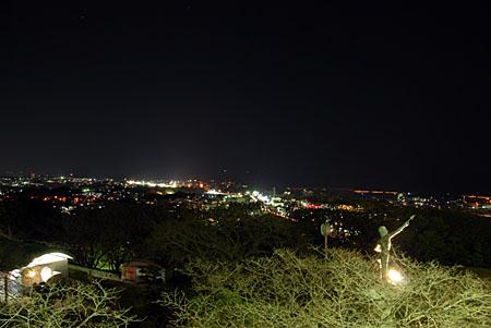 かみね公園の夜景