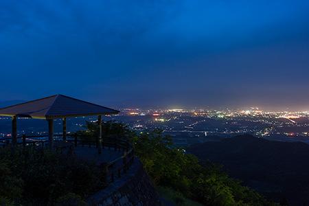 金御岳公園の夜景