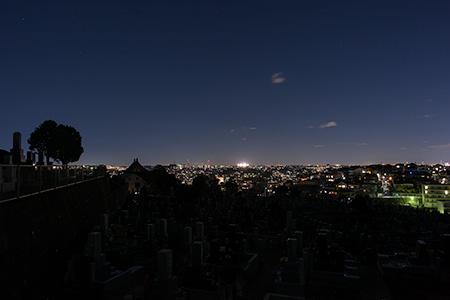 黒船見物の丘の夜景