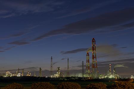 神栖総合公園の夜景