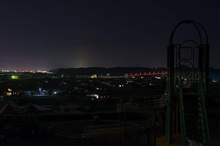 上米公園の夜景