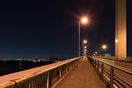 かもめ大橋の夜景