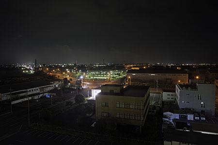 カモメリアの夜景