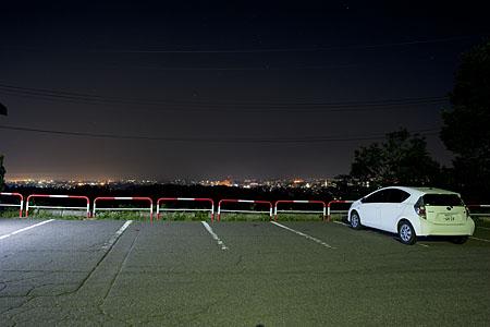 金谷山展望台の夜景