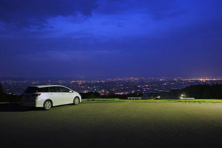 閑乗寺公園の夜景