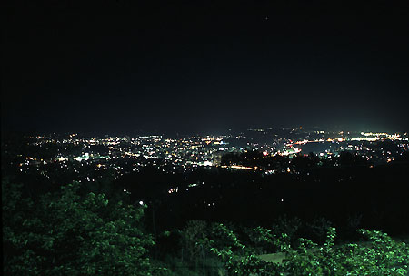 神南備山の夜景