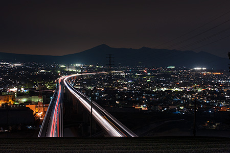 勘助坂の夜景