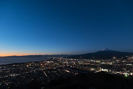 香貫山の夜景