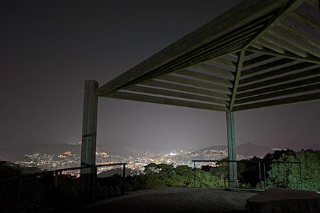 唐八景公園の夜景