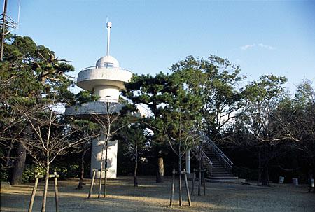 雁宿公園の夜景