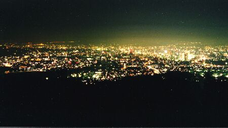 笠井山公園の夜景