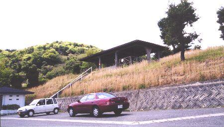 笠井山墓地駐車場の夜景