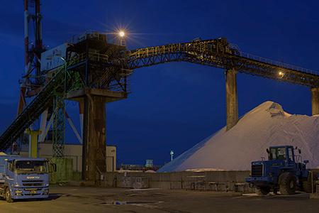 鹿島電解の夜景