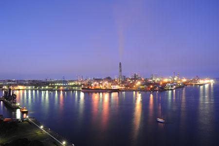 港公園展望塔の夜景