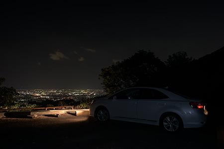 柏尾峠の夜景