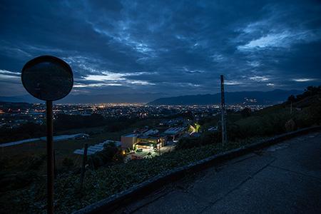 柏尾山農道の夜景
