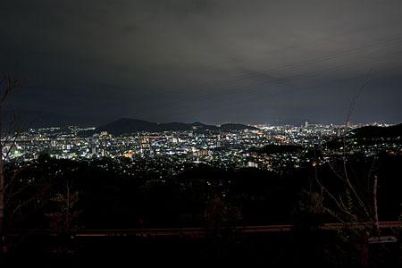 春日野第六公園の夜景