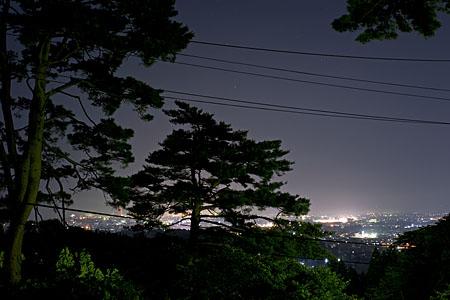 春日山神社の夜景