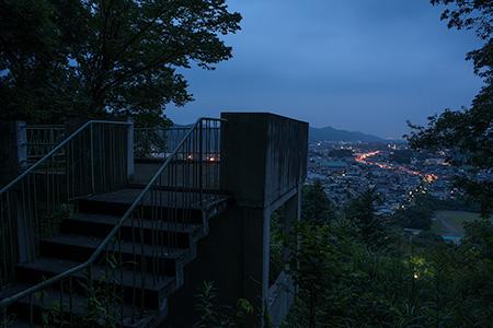 嘉多山公園の夜景