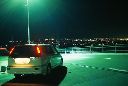 勝沼ぶどう郷の夜景