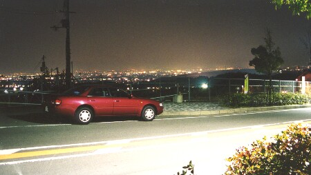 桂坂の夜景