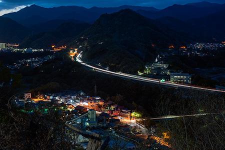 パストラルびゅう桂台の夜景