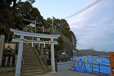 勝手神社の夜景