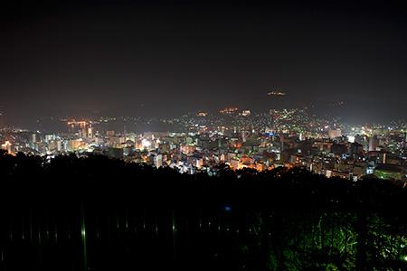 風頭公園の夜景