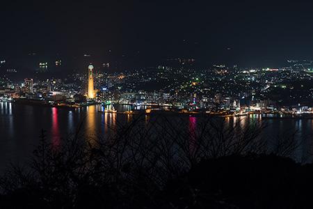 風師山の夜景