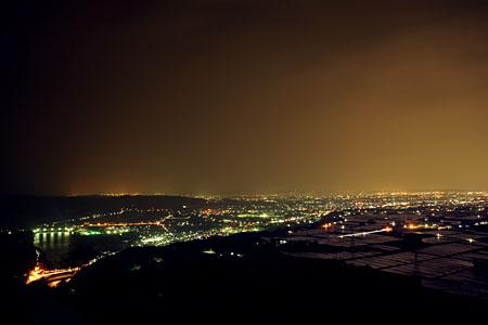 風の城の夜景
