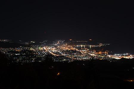 毛無山展望所の夜景
