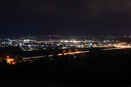 健康の森展望台の夜景
