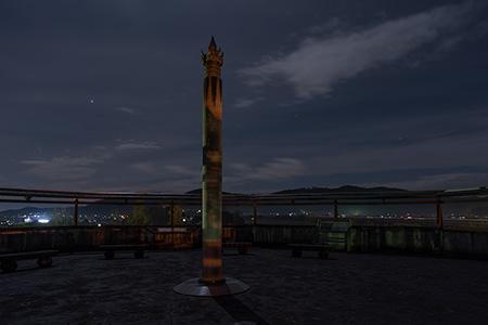 吉備サービスエリア(下り)の夜景