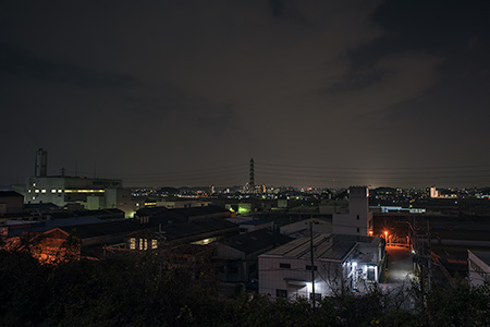 中小企業南団地の夜景