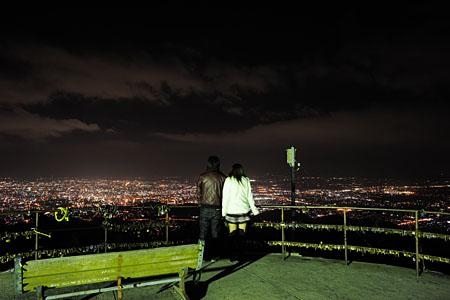 金峰山の夜景
