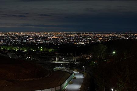 きんもくせい公園の夜景