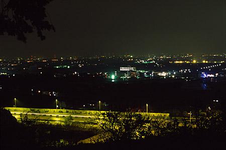 金立公園の夜景