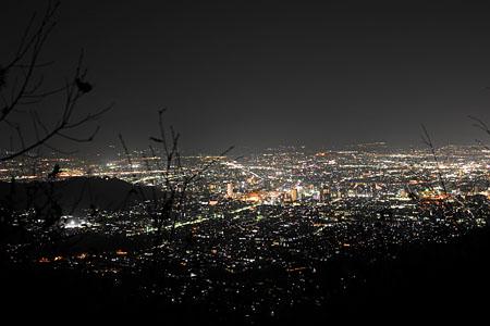 金子峠の夜景