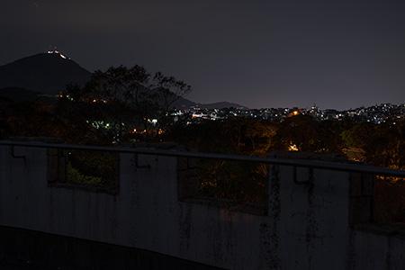 北九州中央公園の夜景
