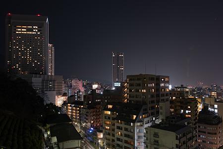 北野遊歩道の夜景