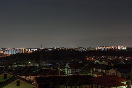 北楽公園の夜景