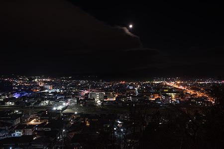 北山公園の夜景